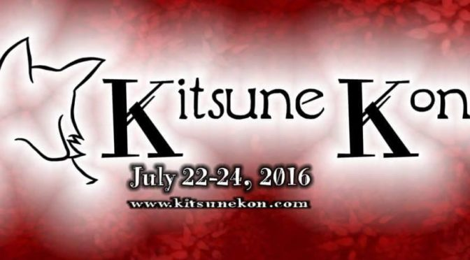 Find us at Kitsune Kon this weekend!