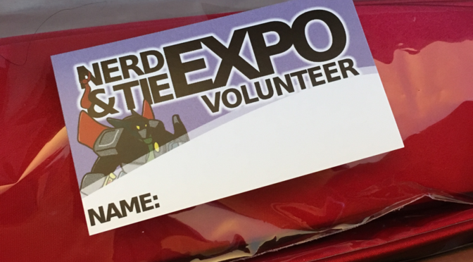 Volunteer for the Nerd & Tie Expo!